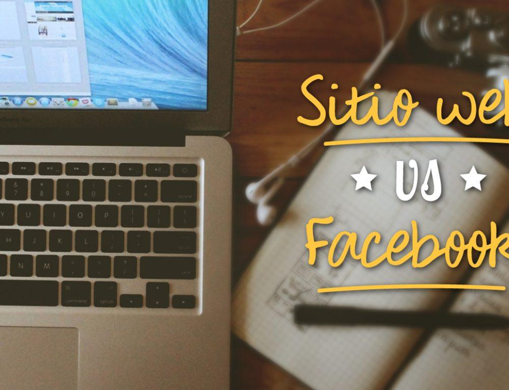 ¿Por qué tener un sitio web si puedo vender por Facebook?